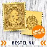 Gratis Wilhelmina Postzegel